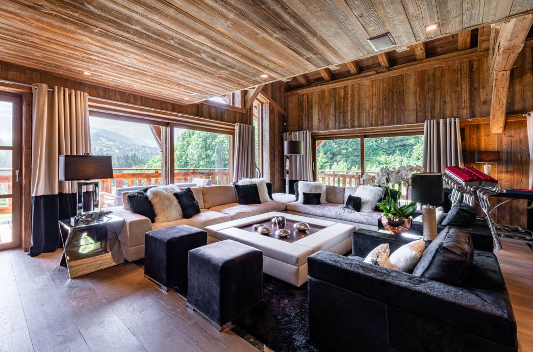 Luxury Heavens Chalet Goldenrod Megève 4
