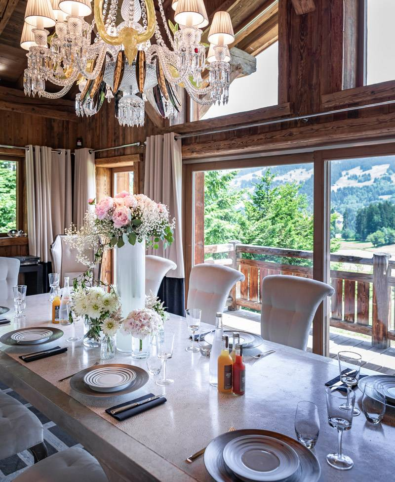 Luxury Heavens Chalet Goldenrod Megève 6