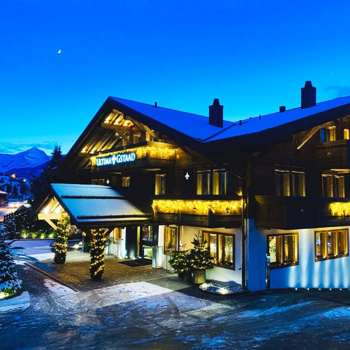 Luxury Heavens Ultima Gstaad Hotel 1